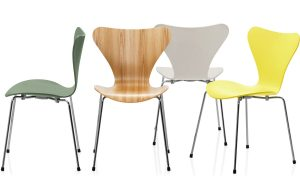 serie chair series side chair color arne jacobsen fritz hansen