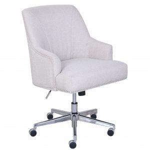 serta desk chair serta leighton home office chair in stoneware beige