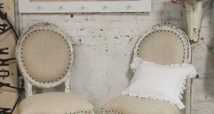 shabby chic chair chr