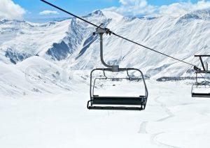 ski lift chair px colourbox