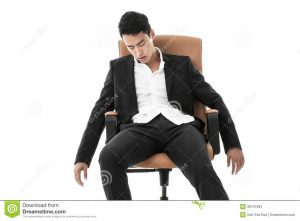 sleeping in a chair businessman sleeping chair exhausted