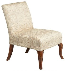 slipper chair slipcover traditional chairs