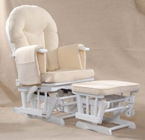 small glider chair white wooden glider rocking and recliner chair using cream upholstered pad plus small bench as well as gliders for chairs and rocker recliners for nursery x