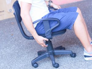squeaky office chair fix a squeaky desk chair step version