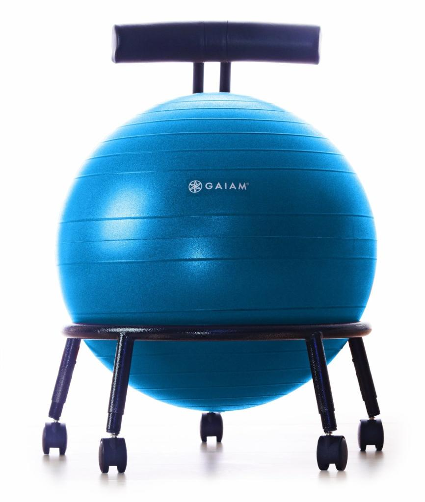 stability ball chair