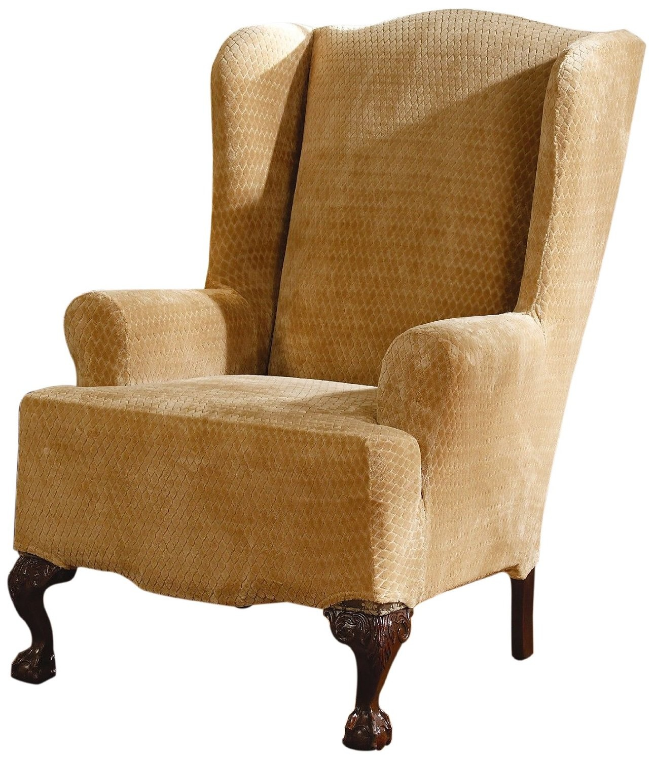 sure fit wing chair covers
