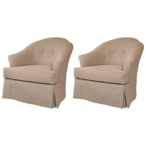 swivel club chair l