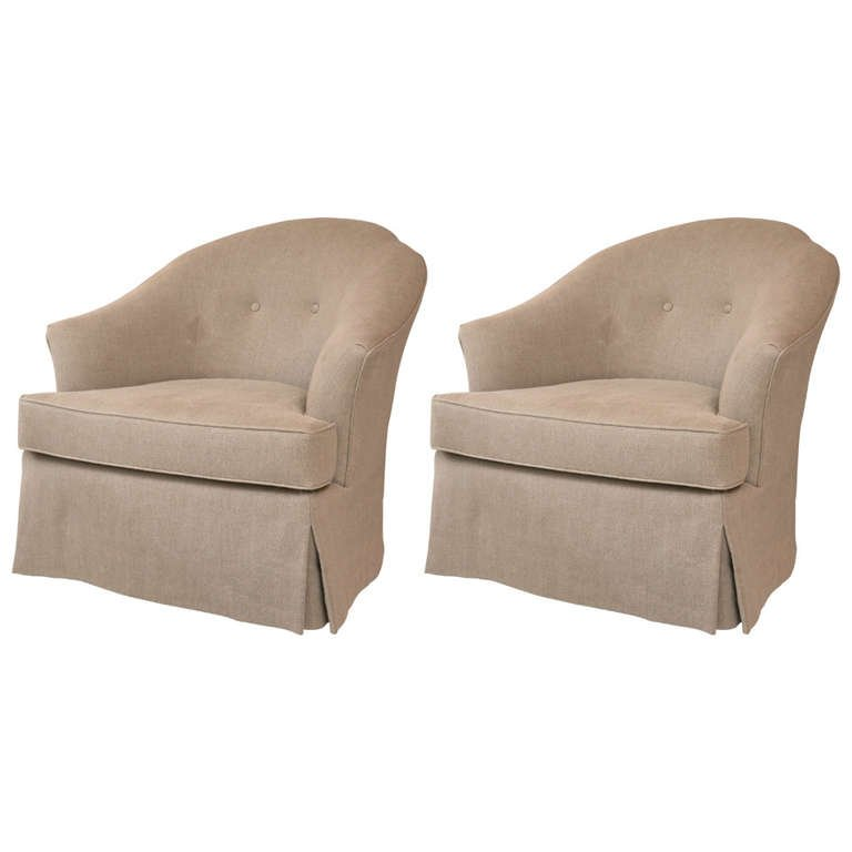 swivel club chair