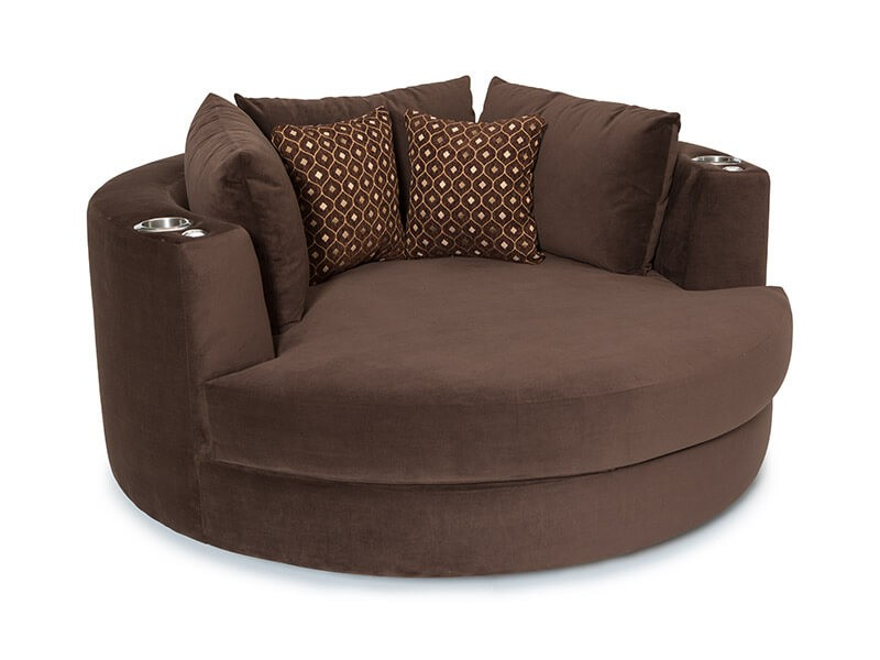 swivel cuddle chair