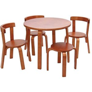 table chair set for toddlers s toddler table chair set cherry