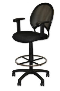 tall desk chair old