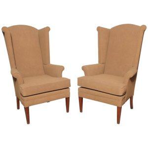 tall wingback chair l