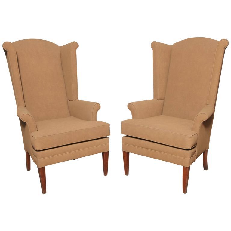 tall wingback chair