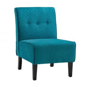 teal blue accent chair l