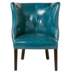 teal blue accent chair product