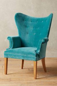 teal velvet chair teal velvet wingback chair
