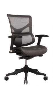 the x chair x small gray no headrest