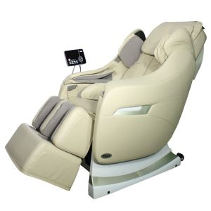 titan massage chair titan massage chair stunning looked in cream and white combbination theme with comfortable design additional remote control on rigt