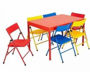 toddler folding table and chair piece kid folding table and chair
