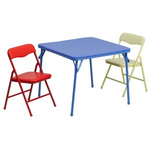 toddler folding table and chair kids colorful piece folding table and chair set jb card gg