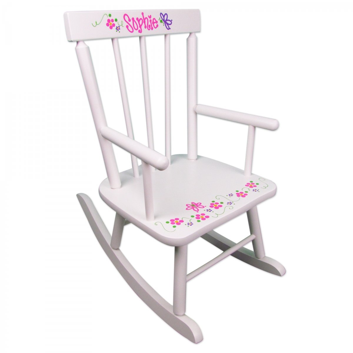 toddler wooden rocking chair