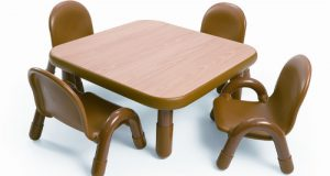 toddlers chair and table set angeles square baseline toddler table and chair set in natural abnw