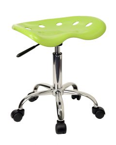tractor seat chair vibrant tractor seat and chrome stool by flash furniture