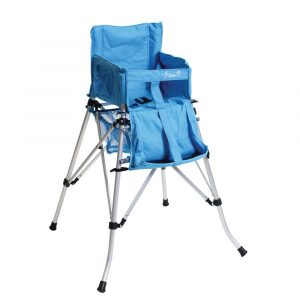 travel high chair blue folding travel high chair p image