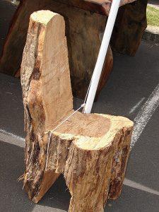 tree stump chair fbecfe z