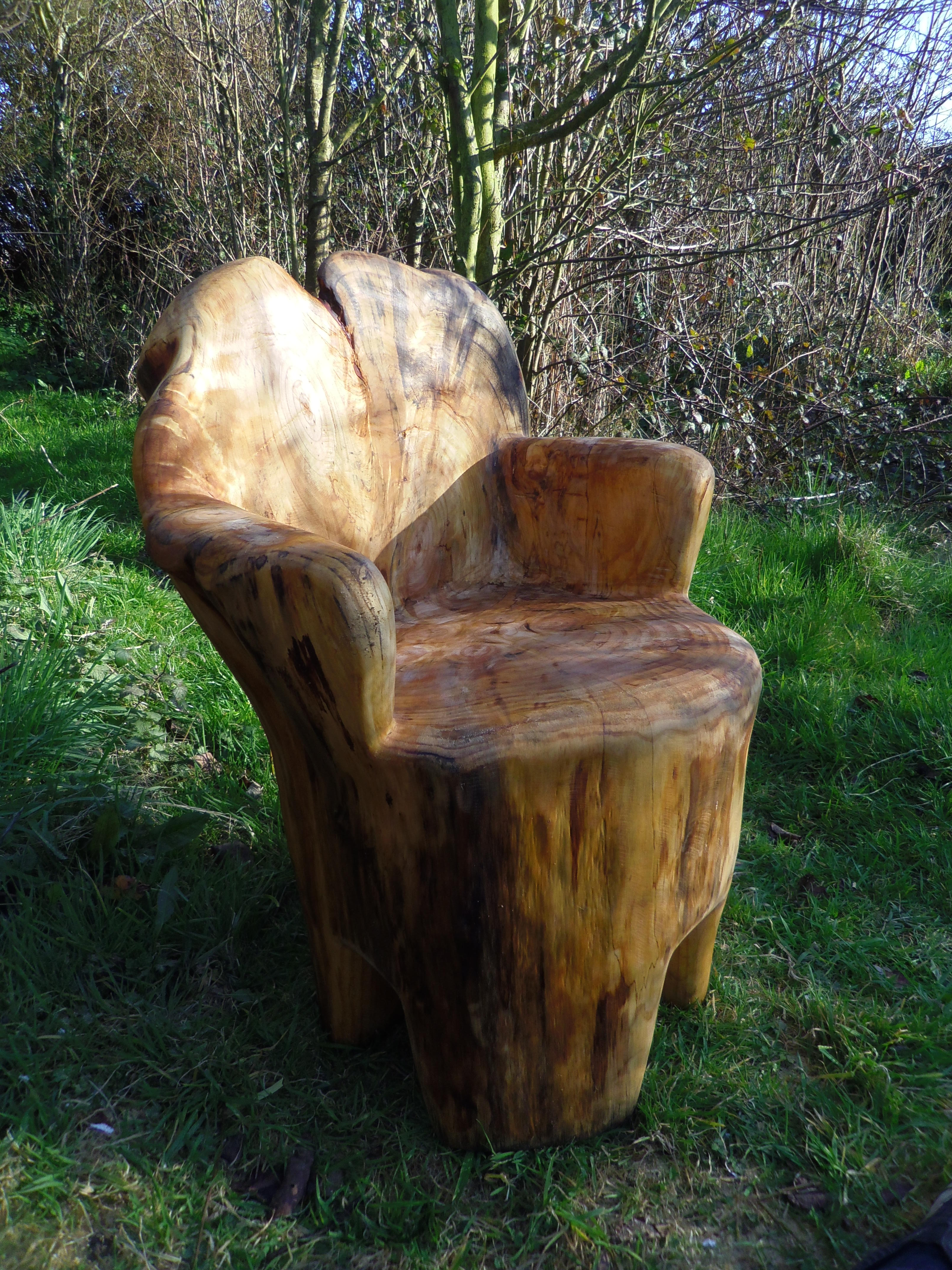 tree stump chair eriks pics