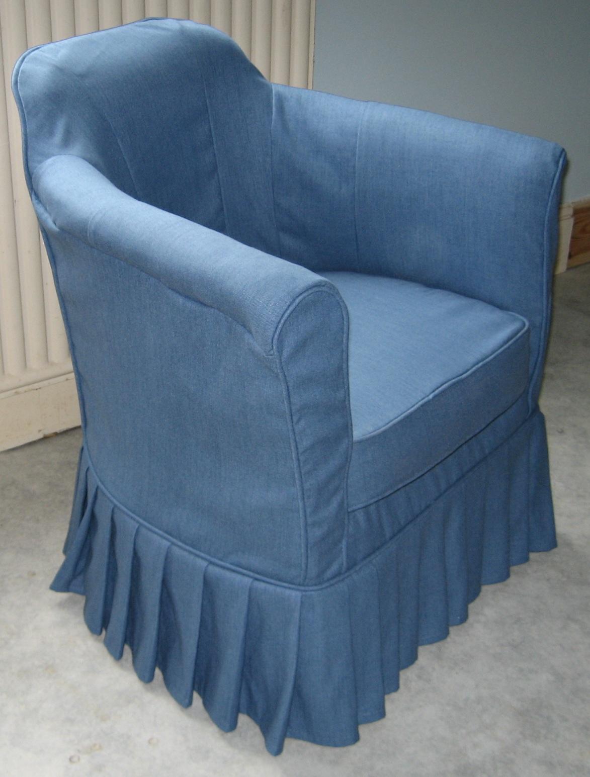 tub chair slipcover