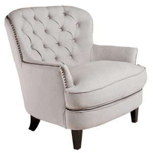 tufted arm chair nfusion jerome tufted arm chair