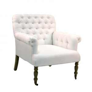 tufted arm chair zn zeneiw ni