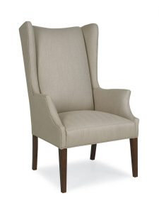 upholstered arm chair tryon dining arm chair
