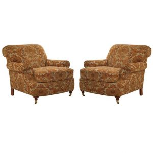 upholstered club chair l