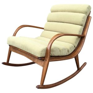 upholstered rocking chair z