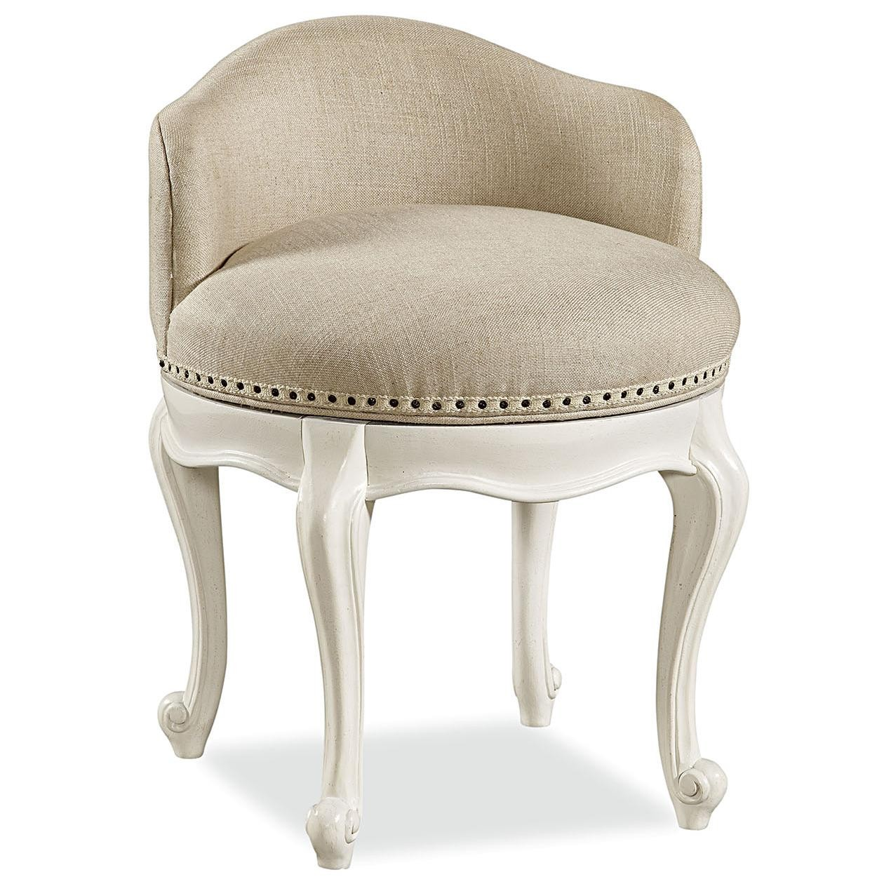 vanity chair with back vintage upholstered swivel vanity chair with low back and curved legs