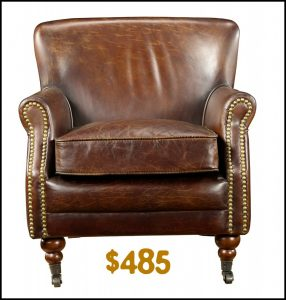 vintage leather chair thickbox