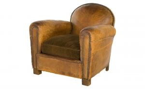 vintage leather chair hg