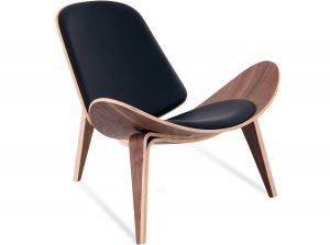 wegner shell chair ch shell chair hans wegner leather platinum replica