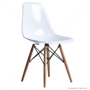 white chair with wooden legs dsw dining side chair wooden legs eames reproduction white