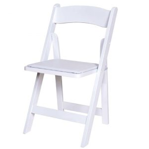 white folding chair white wooden folding chair