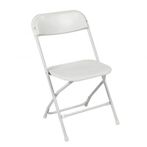 white folding chair s l
