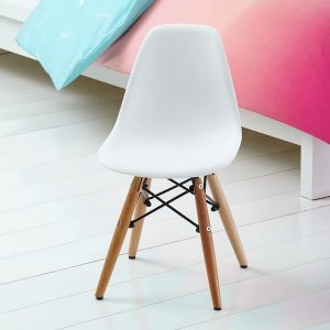 white kids chair saplings kids childrens desk chair in white