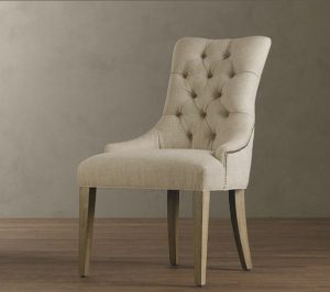 white tufted chair martine upholstered armchair