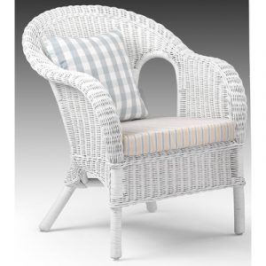 white wicker chair jasper rattan chair with cushion in white
