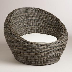 wicker egg chair xxx v
