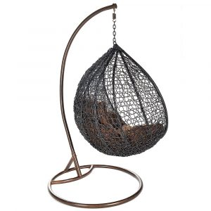 wicker hanging chair cocoon