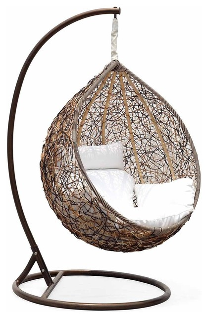 wicker swing chair contemporary hammocks and swing chairs
