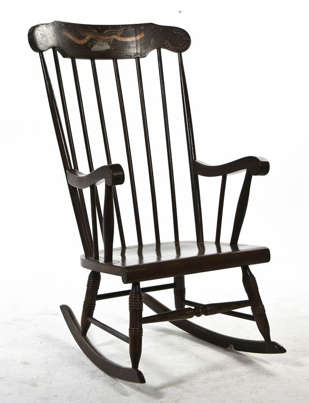 windsor rocking chair l
